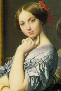 Jean-Auguste -Dominique Ingres, portret van Louise de Broglie. Portretschool Amsterdam