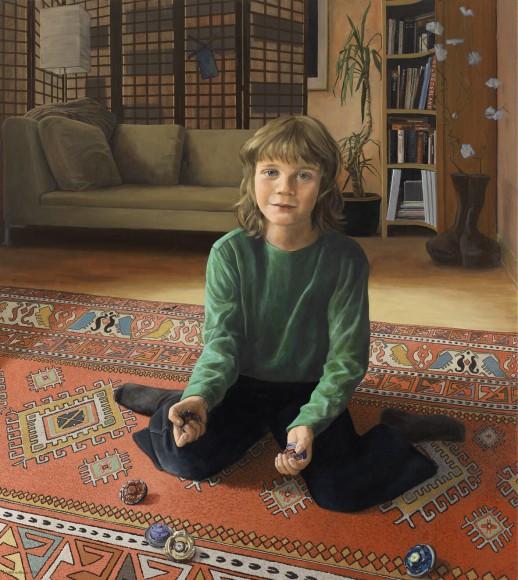 Portret van Roemer Valk, door Liesbeth va Keulen