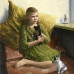 Heleen van der Bruggen, olieverf op doek, Liesbeth van Keulen
