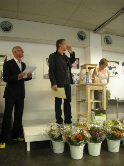 Wackers Young uitreiking WY Award 2011 Luk van Driessche en Sam Drukker