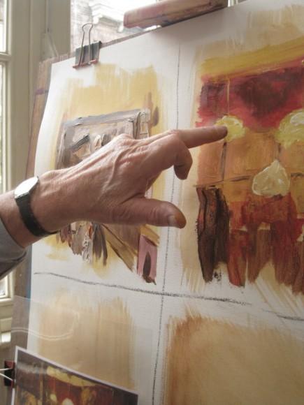 Workshop schilderen in de stijl van Isaac Israels door Atelier Liesbeth van Keulen 04