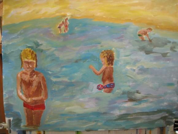 Workshop schilderen in de stijl van Isaac Israels door Atelier Liesbeth van Keulen 10