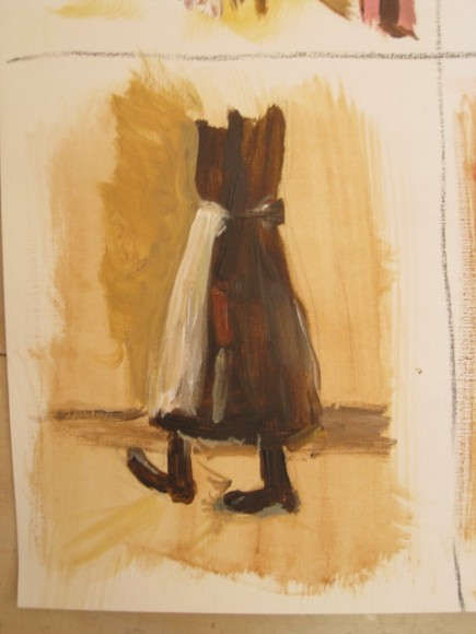 Workshop schilderen in de stijl van Isaac Israels door Atelier Liesbeth van Keulen 13