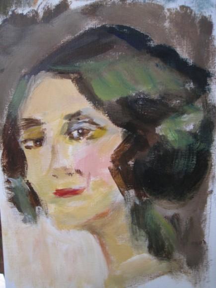 Workshop schilderen in de stijl van Isaac Israels door Atelier Liesbeth van Keulen 15