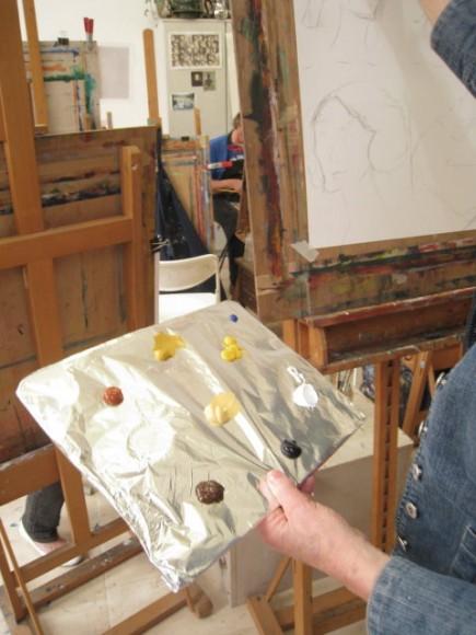 Workshop schilderen in de stijl van Isaac Israels door Atelier Liesbeth van Keulen