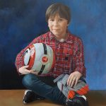 Portret van Frankje door Liesbeth van Keulen